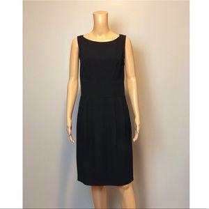 PRADA black a line pocket office dress